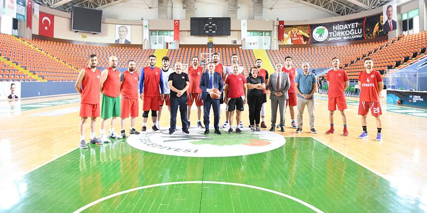 Dev adamlar şampiyonaya Mamak'ta hazırlanıyor