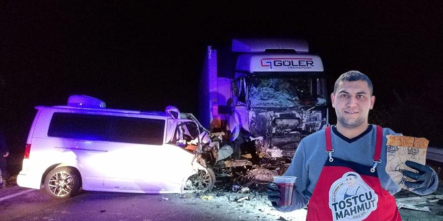 Fenomen Tostçu Mahmut kazada hayatını kaybetti