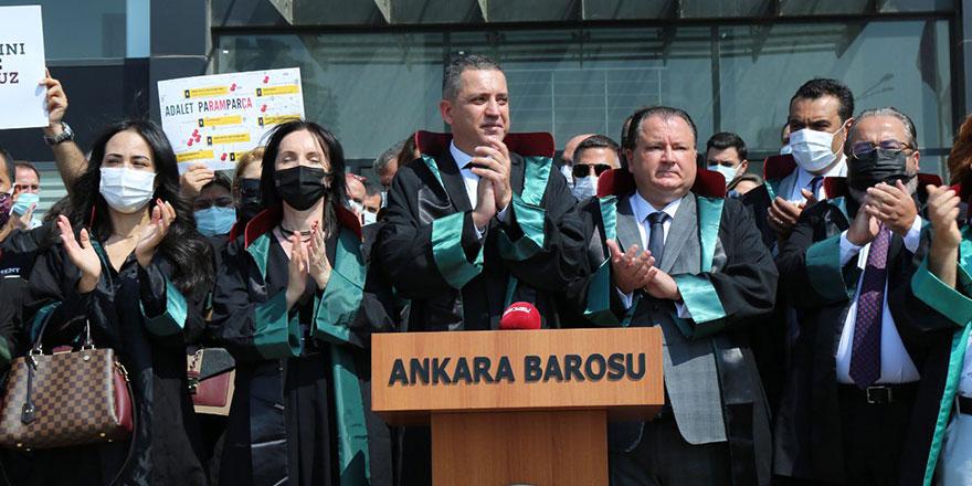 Erinç Sağkan yeniden Ankara Barosu Başkanı seçildi