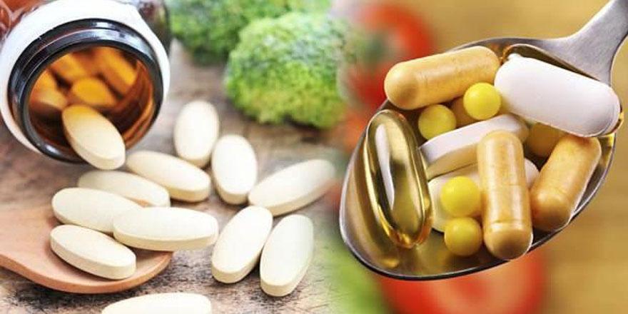 Bilinçsiz vitamin kullanımında kanser tehdidi