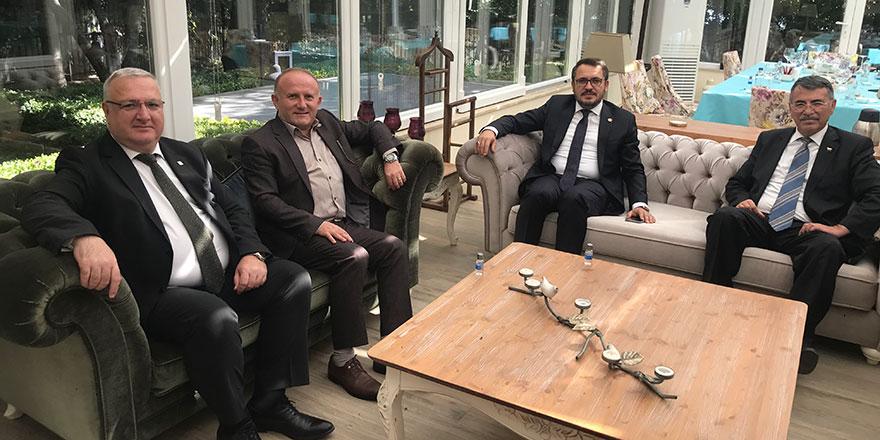 Ankara il başkanları gündemi değerlendirdi