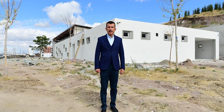 Mete Gazoz Okçuluk Merkezi hızla tamamlanıyor
