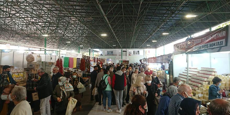 """Ankara'da """"Elâzığ Yöresel Ürünler Fuarı"""" açıldı"""