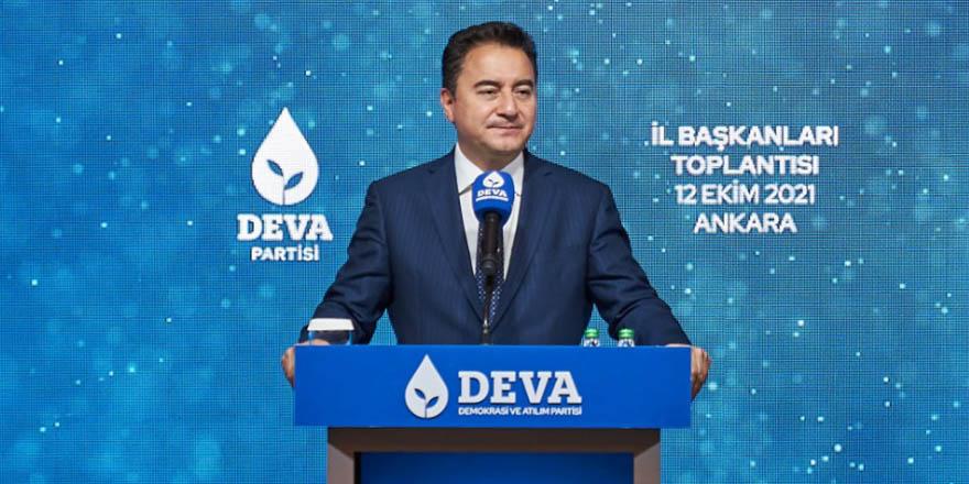 """Babacan: """"Tüm demokratları DEVA çatısına davet ediyoruz"""""""