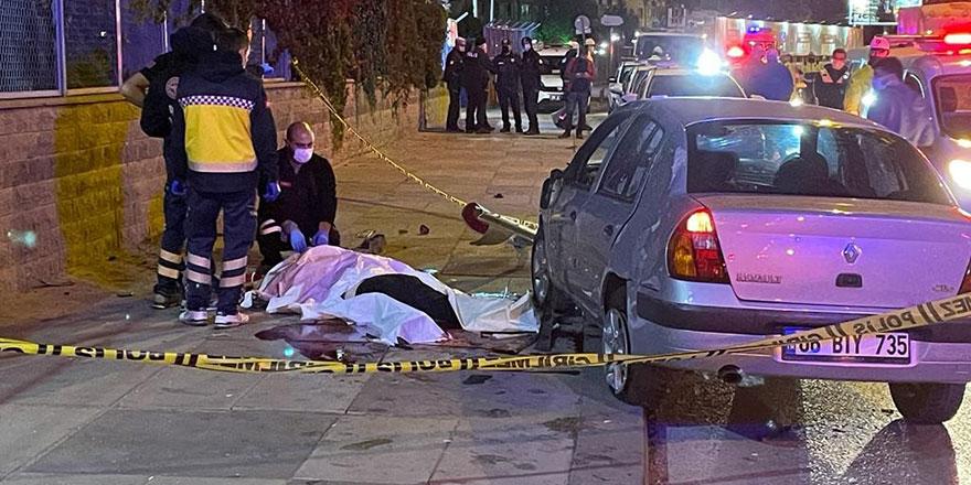 Başkent'te ölümlü kaza
