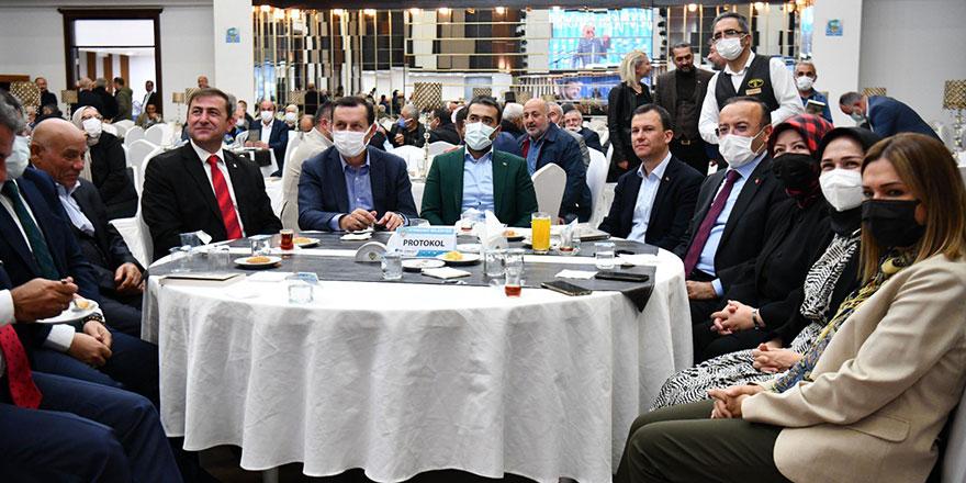 AK Parti Etimesgut'tan Vefa Buluşması