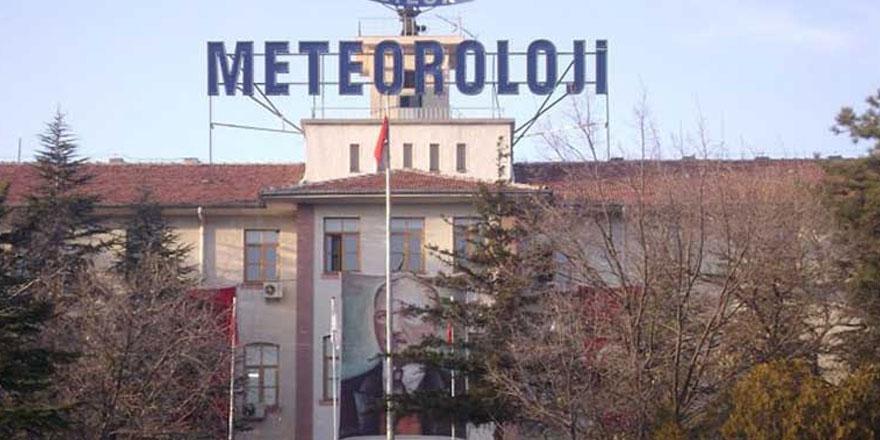 Meteoroloji Genel Müdürlüğünden personel alımı