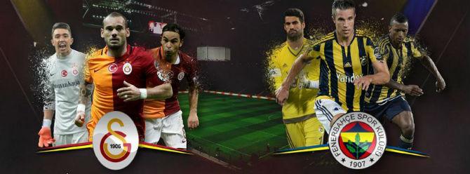 Galatasaray ile Fenerbahçe 382. randevuda