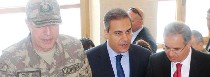 Genelkurmay Başkanı ve MİT Başkanı Kilis'te