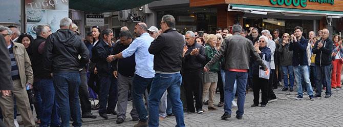 AK Partili ile CHP'liler arasında Ramazanoğlu gerginliği