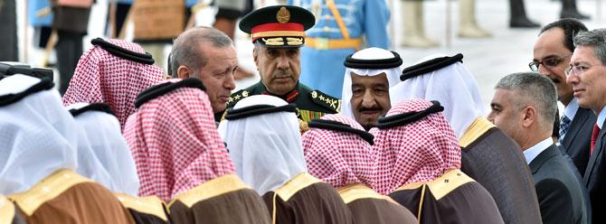 Suudi Arabistan Kralı Selman'a devlet nişanı