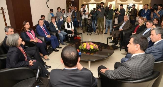 CHP'den Diyarbakır Büyükşehir Belediyesine ziyaret