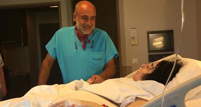 Nur Yerlitaş'tan ameliyat sonrası ilk fotoğraf