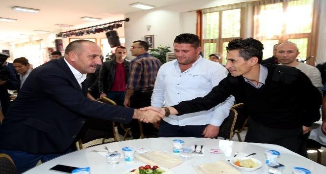 Başkan Duruay güvenlik personeli ile bir araya geldi