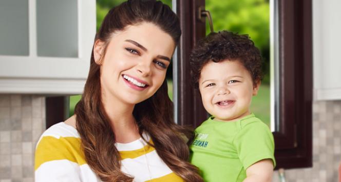 Pelin Karahan ilk kez oğlu ile kamera kaşısında