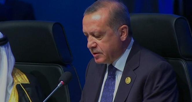 Erdoğan: Aidatımızı sürekli olarak ödüyoruz