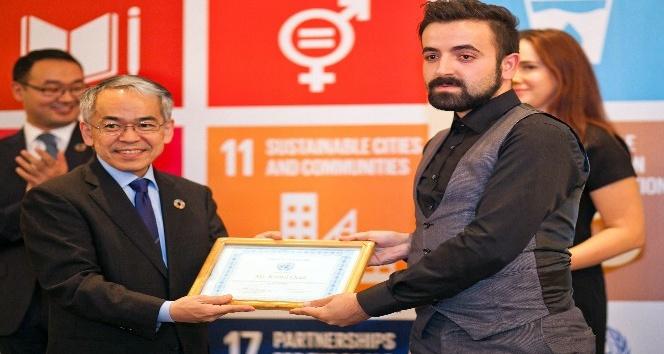 BM'den Ahmet Yesevi Üniversitesi'ne ödül