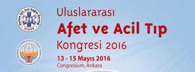 Uluslararası Afet ve Acil Tıp Kongresi'nde terör konuşulacak