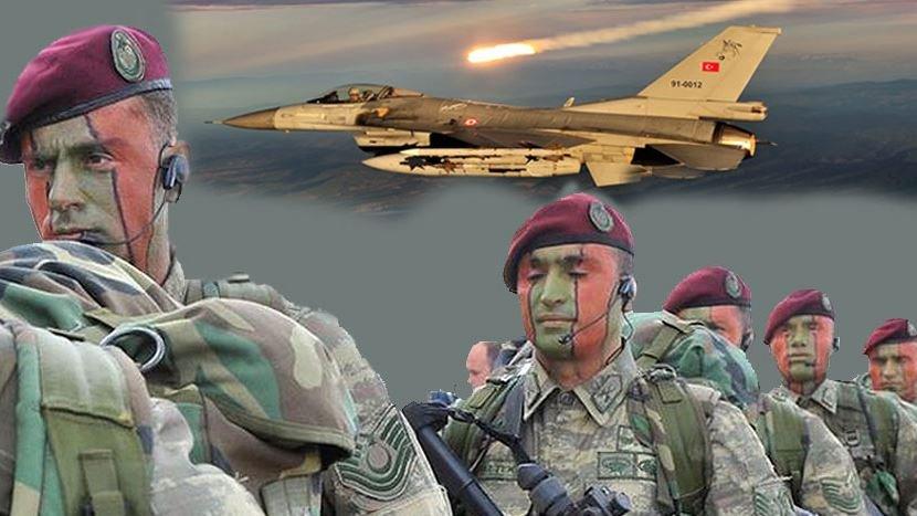 Bordo Bereliler işaretledi Türk savaş uçakları vurdu!