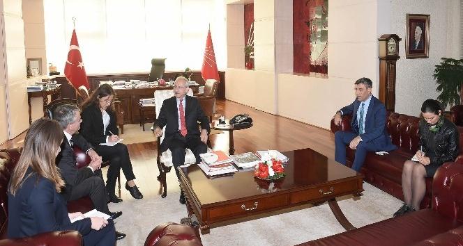Kılıçdaroğlu, Kanada Büyükelçisi ile görüştü