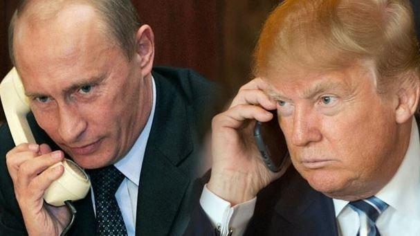 Putin, Trump'la görüştü