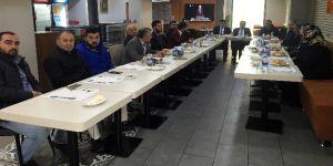 Başkan Çetin esnafın taleplerini dinledi