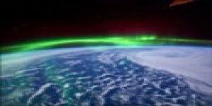Kuzey Işıkları'na bir de Uzay'dan bakın