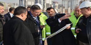 Gökçek, Eryaman Stadı inşaatını denetledi