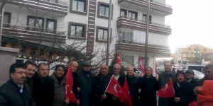 Keçiörenliler polise destek için yürüdü