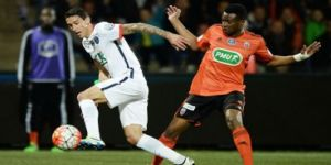 Lorient 0-1 Paris Saint-Germain
