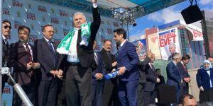 """Başbakan, Kırşehirlilerden """"EVET"""" onayını aldı  SPOT"""