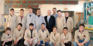 Bitlis'te fabrika gibi lise