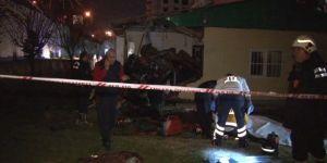 Kontrolden çıktı muhtarlık binasına uçtu: 4 ölü, 1 yaralı