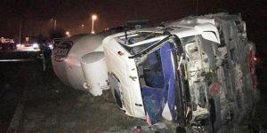 Ankara'nın Akyurt ilçesinde trafik kazası: 5 ölü, 1 yaralı