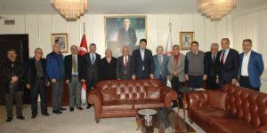 Kırşehirliler Vakfı'ndan Demokrat Parti'ye ziyaret