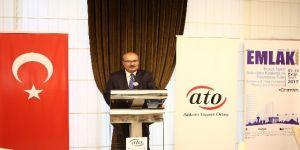 """ATO Başkanı Baran: """"Müteahhitlik anayasası çıkartılması şart"""""""
