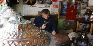 Ankara Kalesi'nde bakıra işlenen tarih