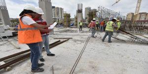 Başkan Gökçek, Eryaman'daki stat inşaatını denetledi