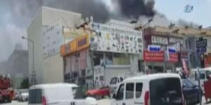 İvedik Organize Sanayi Bölgesi'nde yangın: 2 ölü, 4 yaralı