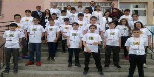 Kamil Ocak Ortaokulu eğitim teknolojisiyle donatıldı