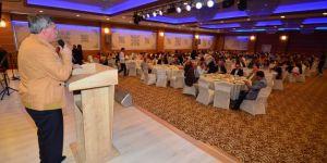 Başkan Çetin hemşerilerini ağırlamaya devam ediyor