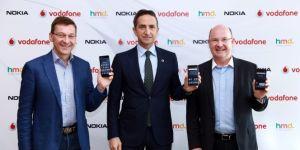 Yeni Nokia akıllı telefonları ilk üç ay Vodafone satacak