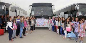 Büyükşehir Belediyesi başarılı öğrenciler için kamp düzenledi