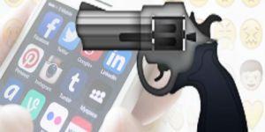 Eski kız arkadaşına silah emojisi atan gence hapis cezası