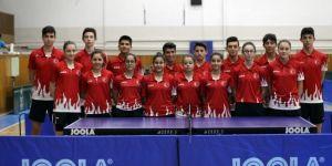 Masa Tenisi Genç Milli Takımı Portekiz'e gitti