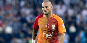 Galatasaray'da Sneijder ile yollar ayrıldı