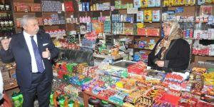 """Palandöken: """"İndirim marketleri, yerel marketleri yok ediyor"""""""
