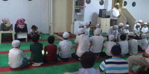 Kur'an kursunda bilgi yarışması