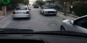 Hatalı park eden araçlar trafiği aksatıyor