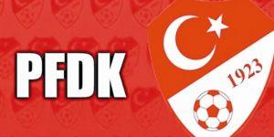 PFDK'dan üç Süper Lig ekibine ceza!